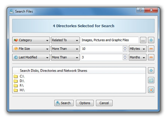 Rule-Based File Search