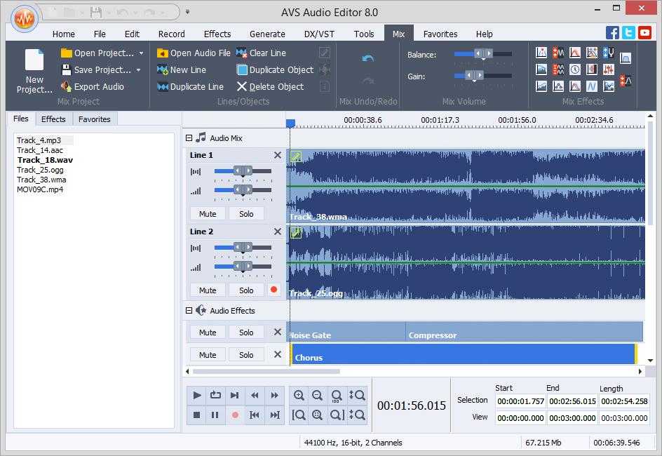 Avs Audio Editor 9 0 Audio Production Amp Recording