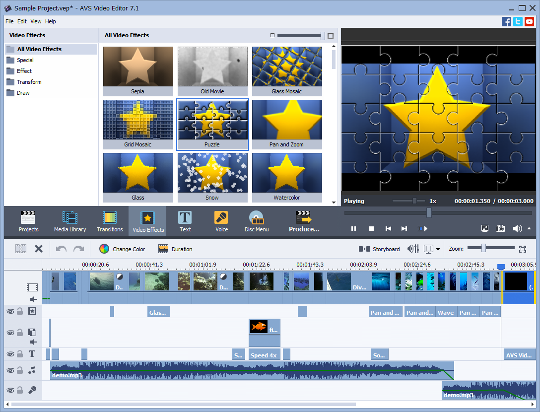 Avs video editor 73 video editing software fileeagle ccuart Image collections