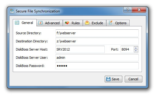 Secure File Synchronization