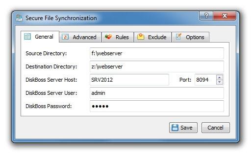 Secure File Synchronization