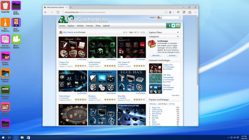 IconPackager   Desktop Customization   FileEagle.com