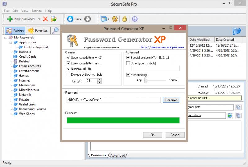 Built-in Random Password Generator