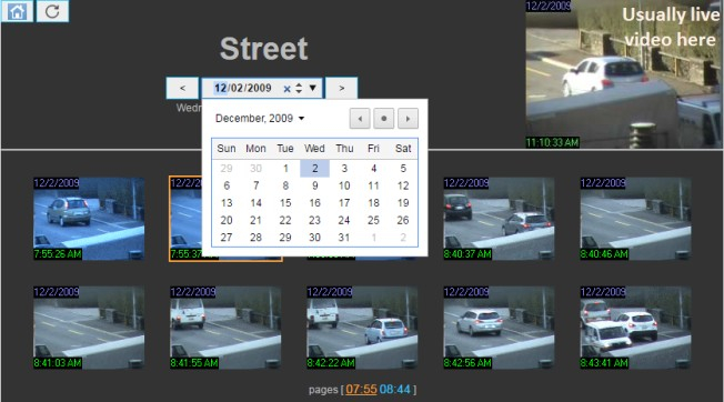 Motion Detections of Street Camera