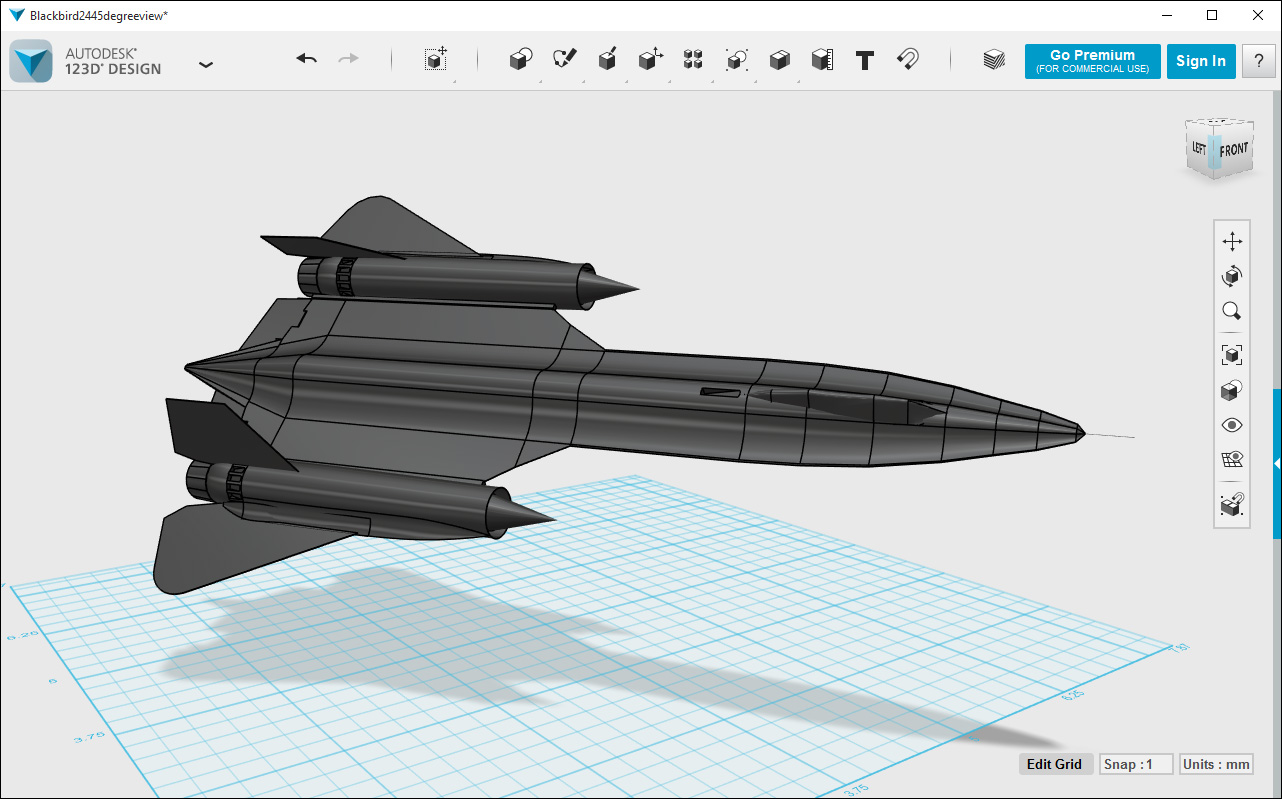 Autodesk 123d Design 2 3d Modeling Software