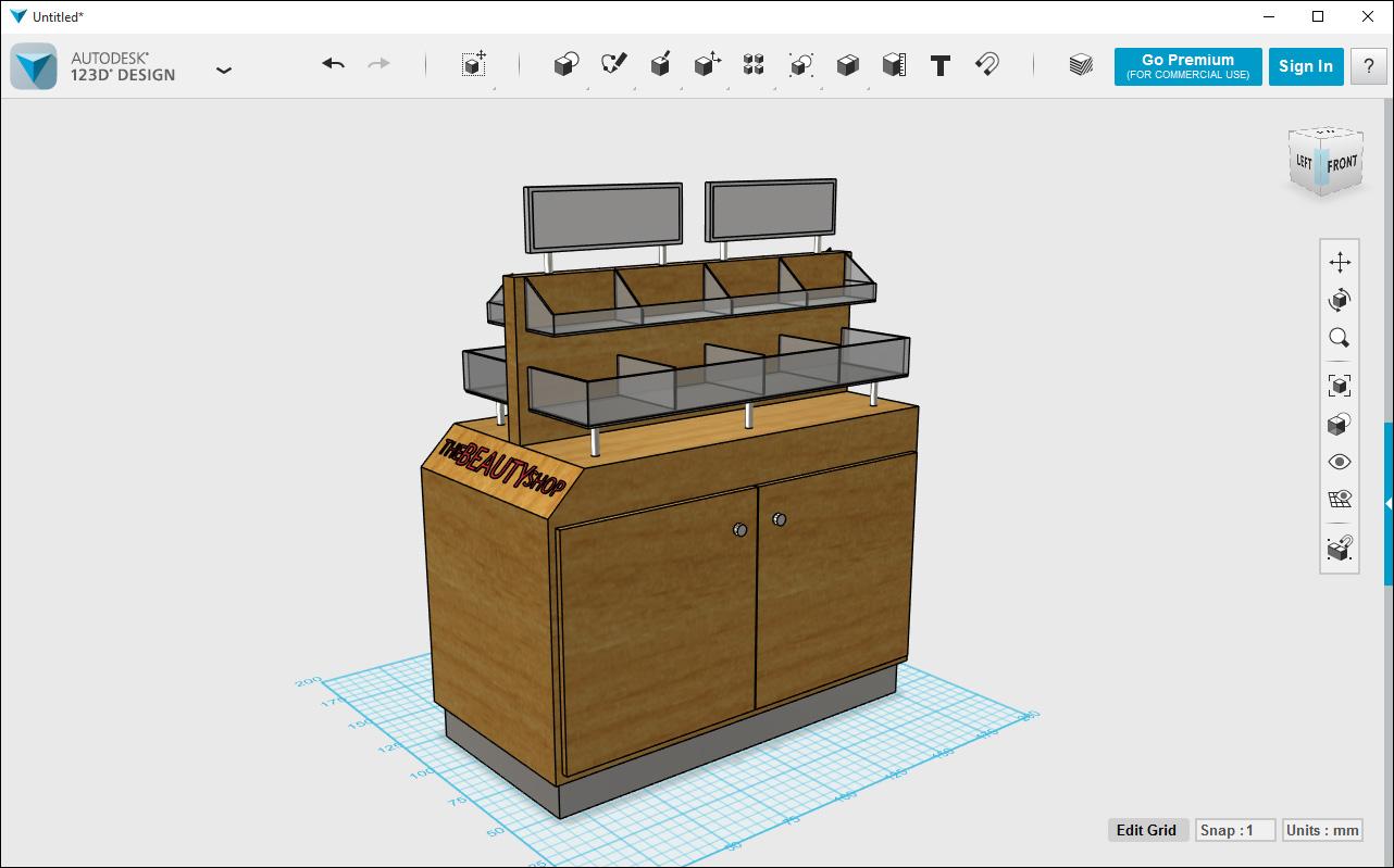 Autodesk 123d design 2 3d modeling software for Autodesk home design