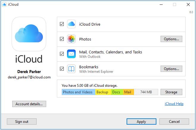 iCloud for Windows   File Management   FileEagle.com