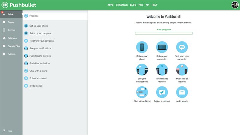 Pushbullet | Data Transfer & Sync Software | FileEagle com