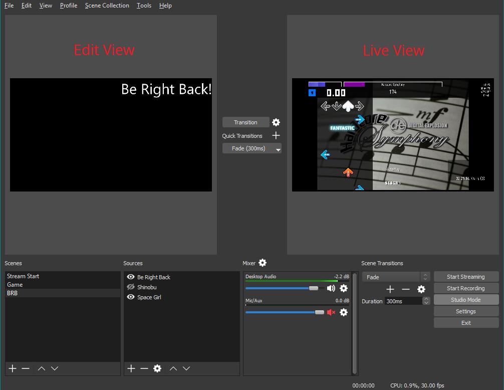 obs studio 21 0 1 video capture software. Black Bedroom Furniture Sets. Home Design Ideas