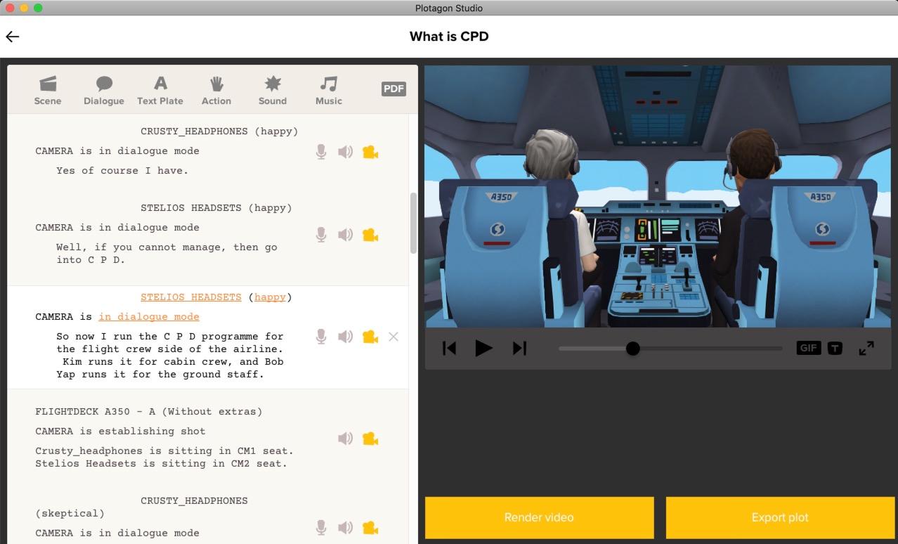 Plotagon   Video Editing Software   FileEagle com